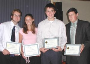 2004 Scholarship Winners