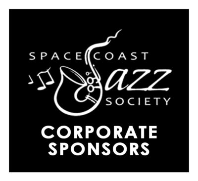 Space Coast Jazz Society - Corporate Sponsorship Button